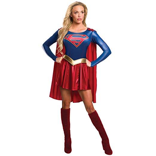 Supergirl Tv Show Costume Dress